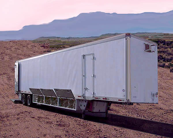 CLICK ON PHOTO - 48' ft studio trailer with feature lighting package for sale