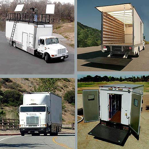Used quality grip trucks, used quality camera trucks, used quality movie vehicles